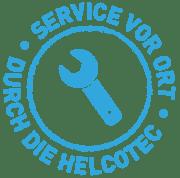 Service vor Ort durch die Helcotec
